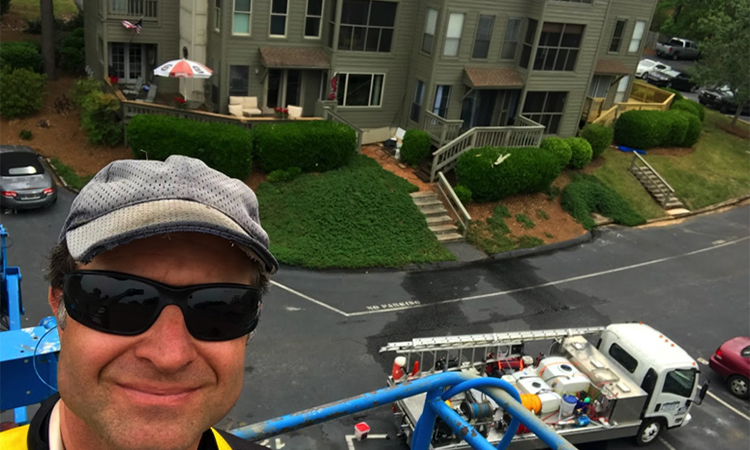 commercial window cleaning squeegee pole in columbia sc
